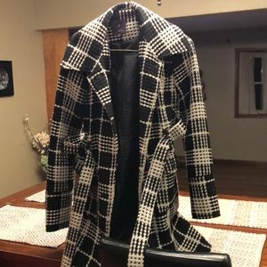 Forever 21 plaid coat